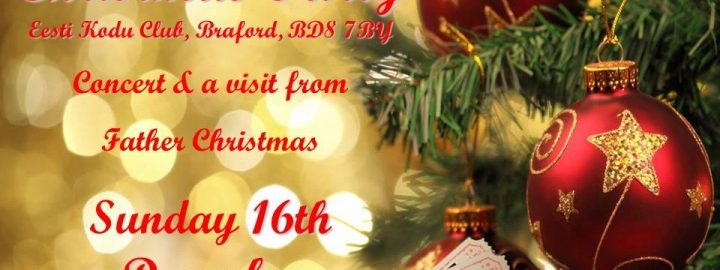 Eesti Kodu Club's Annual Christmas party