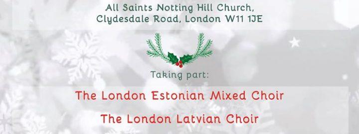 Londoni Eesti Segakoori jõulukontsert