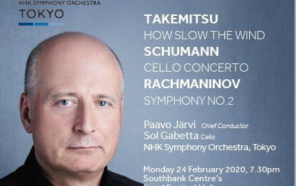 Paavo Järvi & the NHK Symphony Orchestra