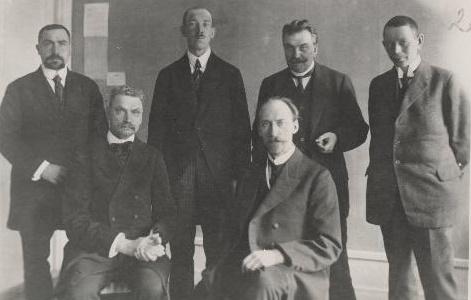 1918 Välisdelegatsioon. Foto: Rahvusarhiiv