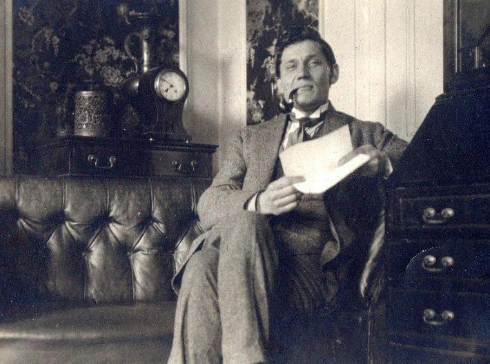 Jaan Kopwillem saatkonnas 1920-1922. Foto: Rahvusarhiiv