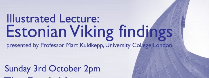 Illustrated lecture: Estonian Viking Findings